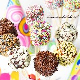 Cake pops z pianek marshmallow