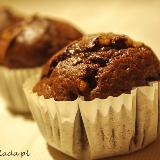 Muffiny czekoladowe z pomarańczą