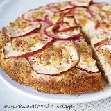 Ciasto jabłkowo- kokosowe