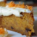 Ciasto marchewkowe z masą z serka philadelphia