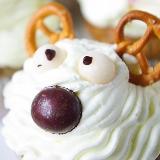 Muffiny makowe – Świąteczne Rudolfy