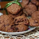 Ciasteczka czekoladowe z bakaliami