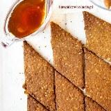 Ciasteczka gryczane na miodzie z mniszka