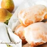 Słodkie (drożdżowe) bułeczki z gruszką