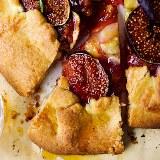 Rustykalna tarta z figami i rozmarynem