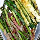 Szparagi i cukinia z grilla KAWA I CZEKOLADA