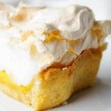 Tarta z lemon curd i bezą