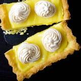 Tarta z lemon curd i bezikami
