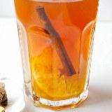 Herbata rozgrzewająca z imbirem i pomarańczą