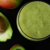 Smoothie jabłko, awokado, kiwi