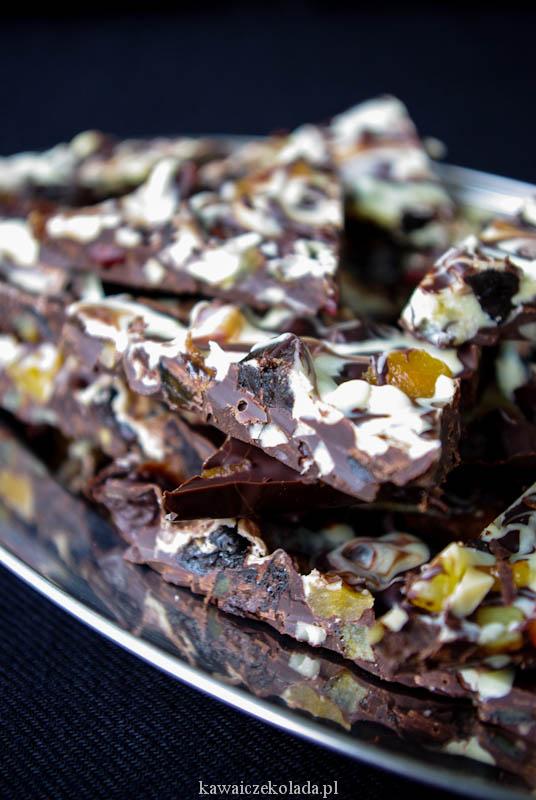 batoniki czekoladowe z bakaliami (45)